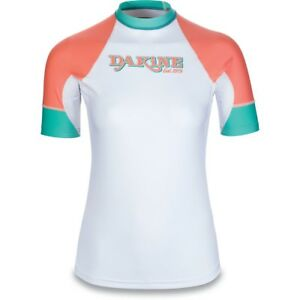 9333e31afa New 2018 Dakine Womens Flow Snug Fit S/S Rash Guard Shirt Medium ...