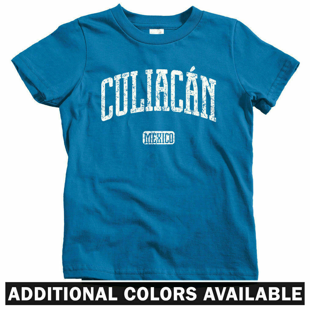 Culiacan Mexico T-shirt Men Dorados de Sinaloa Culiacanense Kids XS-4XL
