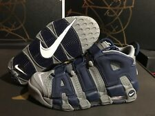 new style 78e22 639f7 item 3 Nike Air More Uptempo  96 Georgetown Hoyas Grey White Navy 921948-003  Size 8.5 -Nike Air More Uptempo  96 Georgetown Hoyas Grey White Navy 921948- 003 ...