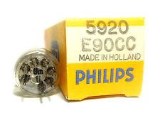 """NOS """"SQ"""" E90CC 5920 Tube Valve Philips Special Quality Dual Triode"""