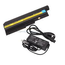 9Cell Battery + 90W AC Adapter for IBM Lenovo Thinkpad T60 T60P Z60 R60 Z61m