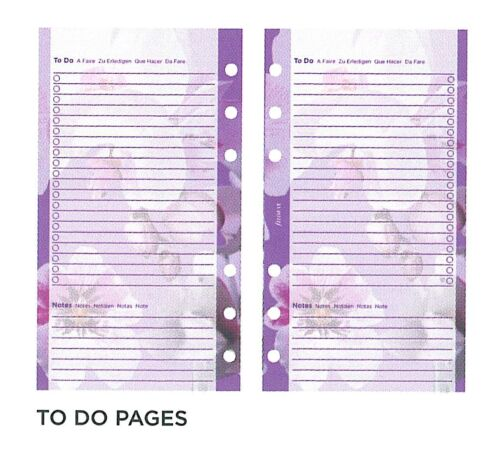 Filofax 2020 Personal size Week On Two Pages Illustrated Floral Diary Pack 6341