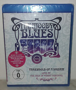 BLU-RAY-MOODY-BLUES-THRESHOLD-OF-A-DREAM-Isle-Of-Wight-NUOVO-NEW