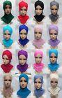 wholesale Retail Cotton Cross Muslim Cap Islamic Inner Hat Ninja Sport Hijab