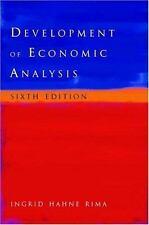 Development of Economic Analysis, 6th Edition