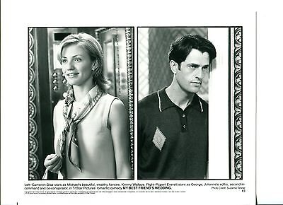 Cameron Diaz Rupert Everett My Best Friend's Wedding Movie Press Still Photo