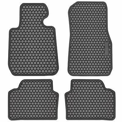 Black Front Rear Rubber Floor Mat Liner For Bmw 3 Series F30 320i