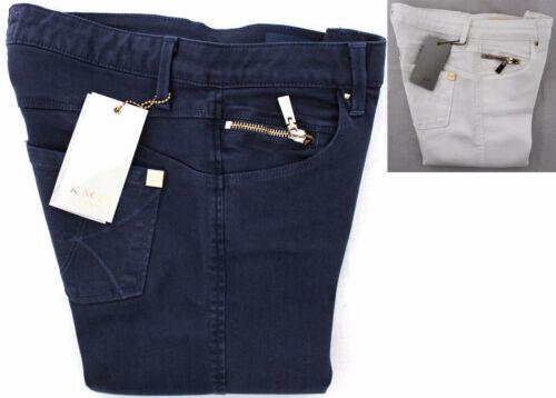 Elasticizzato Slim Scuro Blu Kaos Donna 5 Cotone Tasche Pantalone Fit Lucy Jeans YqOHwng
