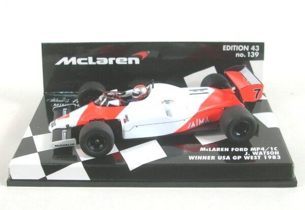 McLaren Ford mp4 1c No. 7 winner usa GP west 1983 (John watson)