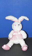 Wal-mart Plush White ballet dancer bunny rabbit Floral Print tutu Flowers easter