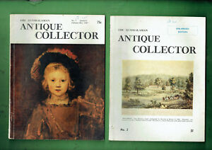 #HH   #9.  LOT OF TWELVE(12)   MAGAZINES  ON ANTIQUES