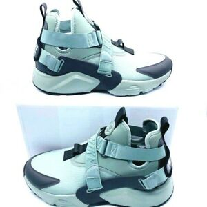 Nike-Womens-Air-Huarache-City-Utility-Running-Shoes-Green-AQ0085-300-11-M-New