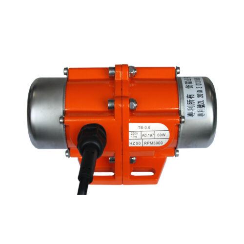 Industrie-Vibrationsmotor 30W-100W einstellbare Geschwindigkeit  220V 380V Beton