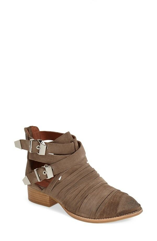 Jeffrey Campbell 'Nuestra' Cutout Bootie in BROWN (9) 180+