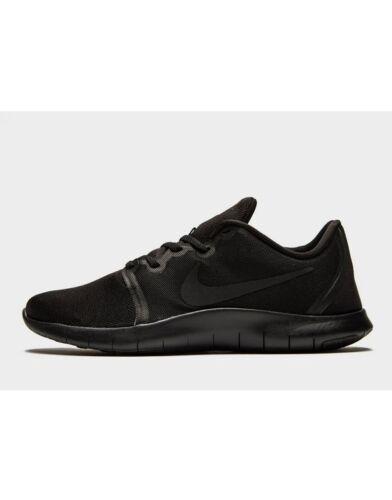 2018 Nike Flex Kontakt 2 ® (Herren alle Größen UK: 6 -13) schwarz NAGELNEU