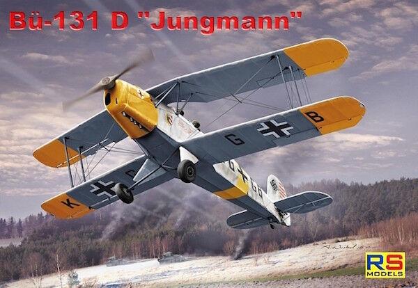Rs Models 1/72 Bücker Bu-131D #92193
