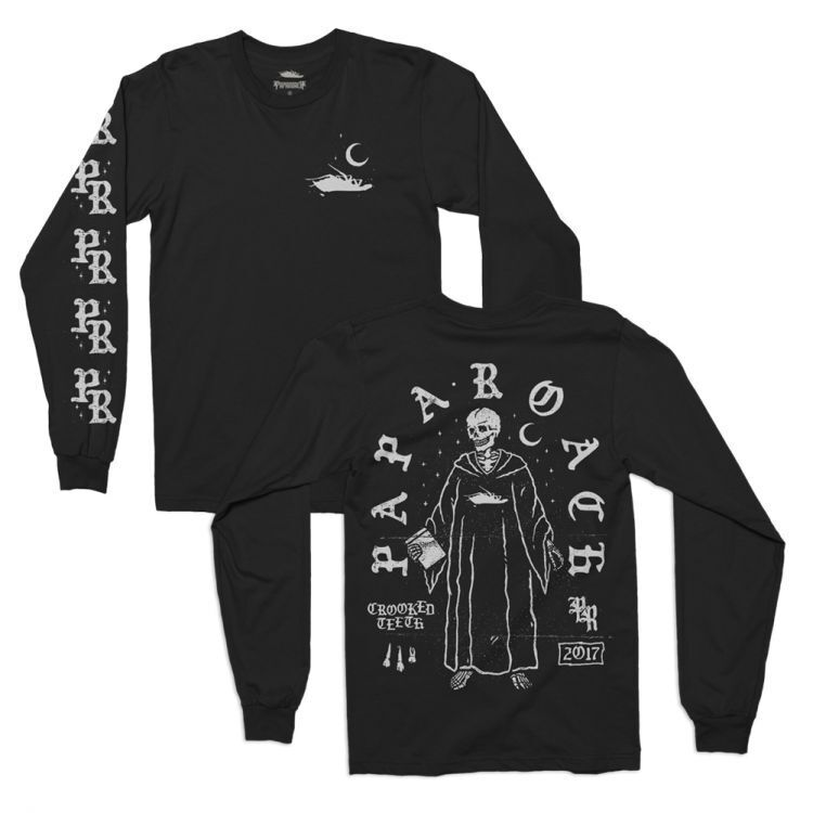 PAPA ROACH Leader Long Sleeve T SHIRT S-2XL New Official Kings Road Merchandise