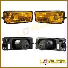 For 92-98 BMW E36 3 SERIES 318 325 323 328 FOG LIGHT LAMP YELLOW LENS PAIR