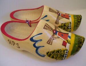 Dutch Shoes Wooden Holland Vintage