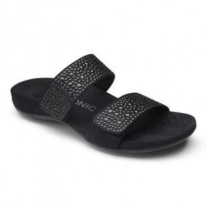 Vionic Samoa Black Slide Sandal Women's Sizes 5-11/NEW!!!