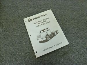 1993 International 4600 4700 4800 4900 Truck Electrical ...