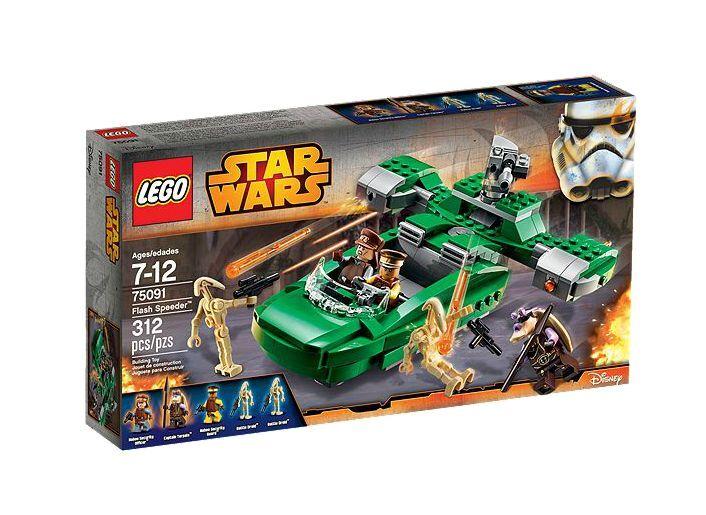LEGO ® Star Wars ™ 75091 Flash Speeder ™ Nouveau neuf dans sa boîte NEW En parfait état, dans sa boîte scellée Boîte d'origine jamais ouverte
