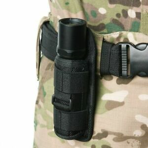Portable-Flashlight-Pouch-Holster-Belt-Carry-Case-Holder-with-Rotat-360-Deg-D0Q5