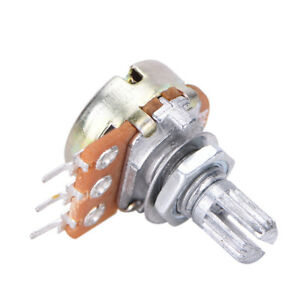 10-PCS-WH148-B10K-Linear-Potentiometer-15mm-Shaft-With-Nuts-And-Washers-Pop-NP