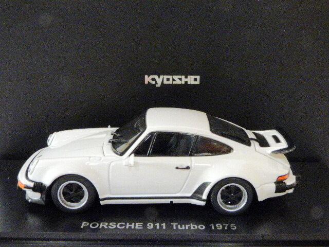 Kyosho Porsche 911 Turbo 1975 (Blanc)