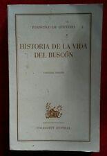 Historia de la Vida del Busco por Francisco de Quevedo 1970 Coleccion Austr