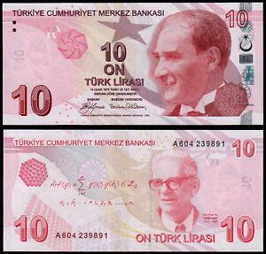 TURKEY-10-LIRASI-P223a-2009-UNC