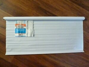 """Window Shade Pull Up Blind Convolute """"Push Pull"""" Tip Roller WHITE 30"""" x 72"""" NEW"""