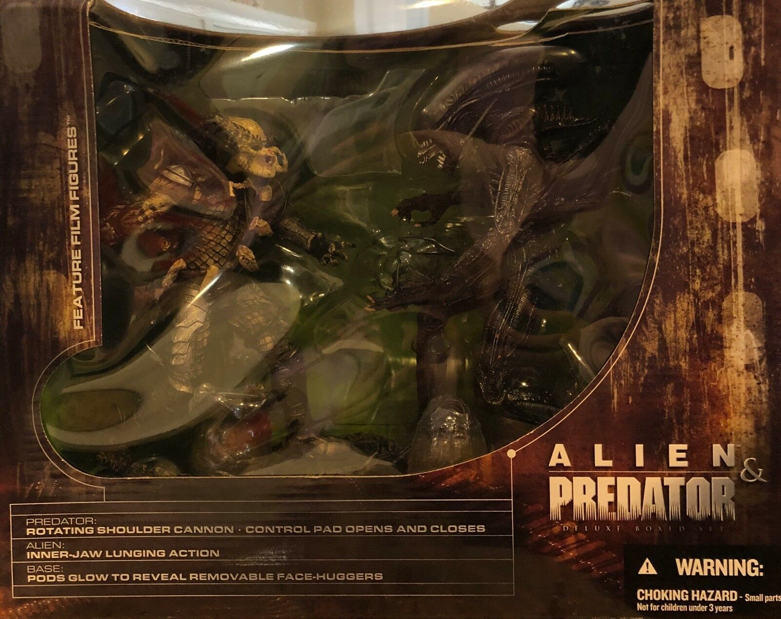Alien und protator deluxe box set mcfarlane.