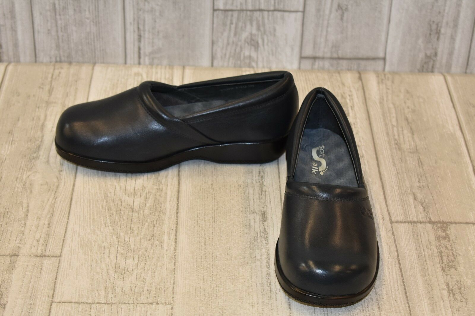 Soft Walk Adora Slip On Clog - Women's Size 6.5WW Dark Navy