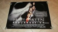 Halloween Resurrection Movie Poster Jamie Lee Curtis Poster, Halloween Poster
