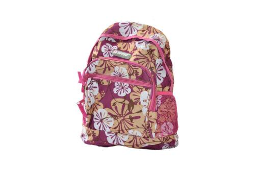 Hi-Tec Enfants Floral école primaire Pe Gym Voyage Cabine Vol Sac à dos