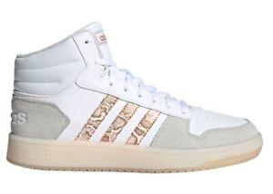 Crónica Diligencia Grapa  Zapatos de Mujer Altos adidas FY4009 Zapatillas Baloncesto Deportivos  Blancas | eBay