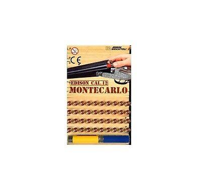 40 SCHUSS Montecarlo Munition - Edison Giocattoli Cal.12 für Schrotgewehr Gewehr