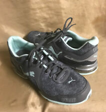 41349592697217 item 1 PUMA Cell Riaz WOMENS SIZE 6.5 Running Athletic green   gray lace-up  shoes -PUMA Cell Riaz WOMENS SIZE 6.5 Running Athletic green   gray lace-up  ...