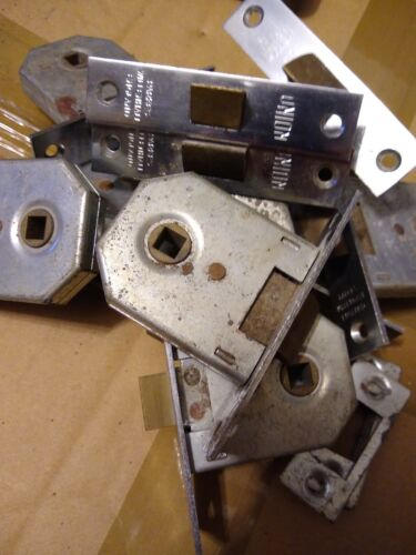 UNION 2642 Mortice Latch 64mm Chrome Plated . qty 1