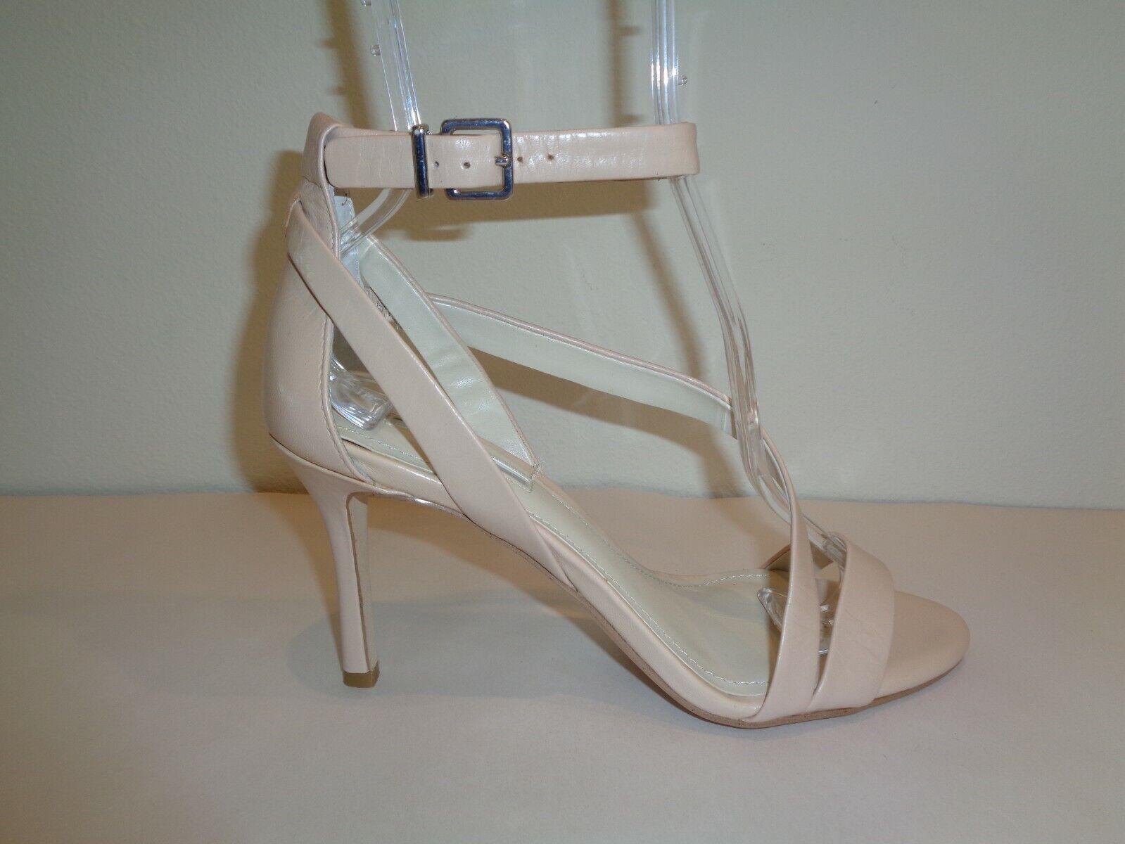 Bcbg Bcbgeneration tamaño 7.5 M Diego RUBOR Nude Nuevos Mujer Zapatos Sandalias De Cuero