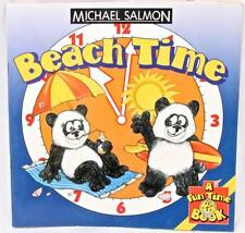 Beach Time Learn About Time Daily Routine Words with Animals Analogue Clock FUN