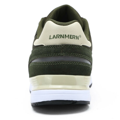 LARNMERN Men/'s Steel Toe Safety Shoes Reflective Breathable Stylish Work Boots