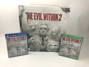 The Evil Within 2 Unused Promotional Promo Kit w/ New PS4 & Xbox One Games Rare