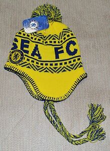 a2e984be5bb Image is loading CHELSEA-FC-SOCCER-PERUVIAN-BEANIE-NEW-OFFICIAL-SKULL-