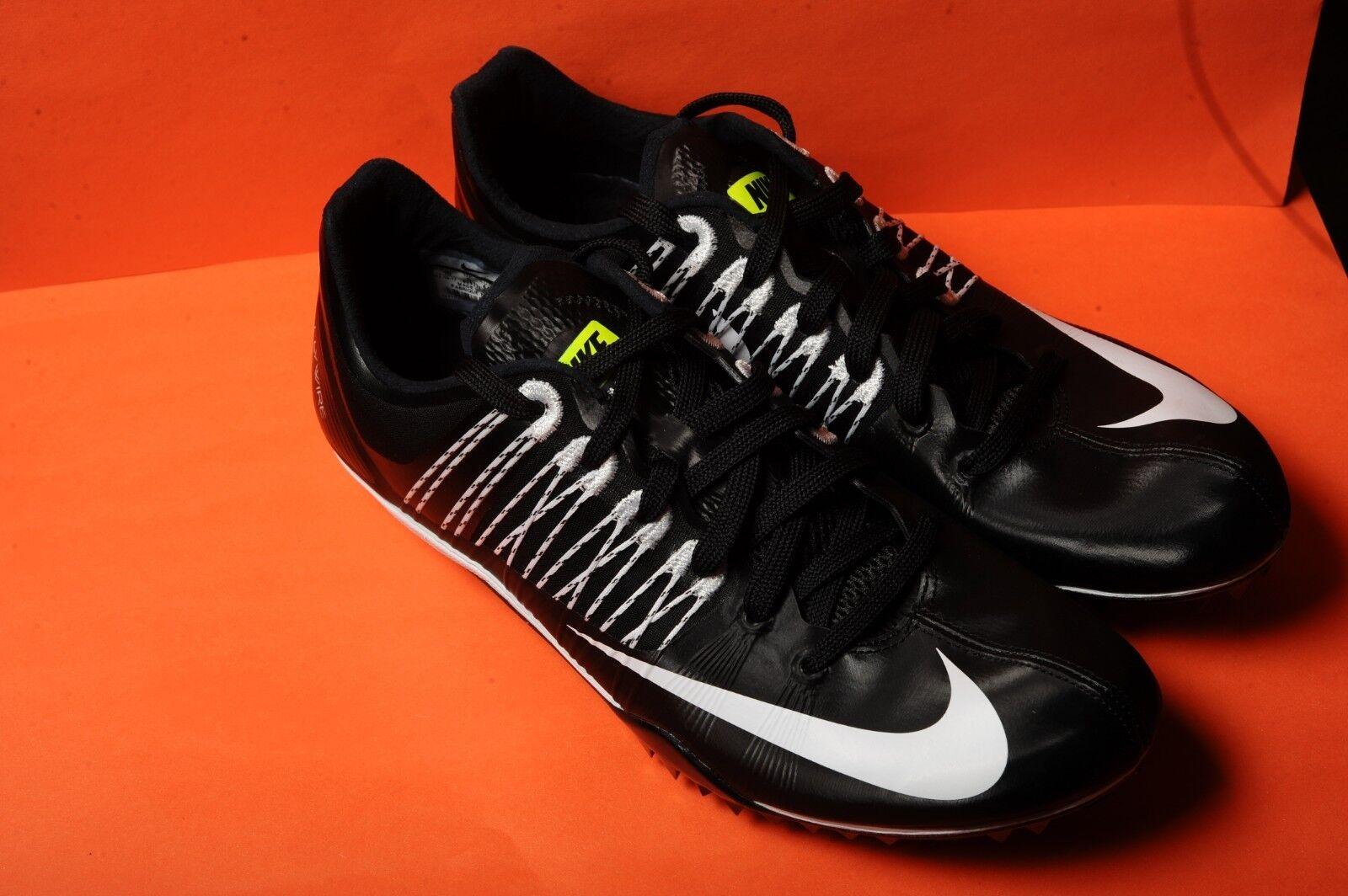 best loved 9573b 2fd94 Nuove Nike Zoom Celar 5 5 5 Punte Nero   Bianco   Volt Unisex Sz 10