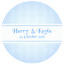 DAMASK-STYLE-PERSONALISED-WEDDING-BIRTHDAY-BUSINESS-STICKERS-CUSTOM-SEALS-LABELS thumbnail 7