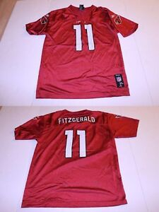 f3f4f606d Youth Arizona Cardinals Larry Fitzgerald XL (18 20) Jersey (Red ...