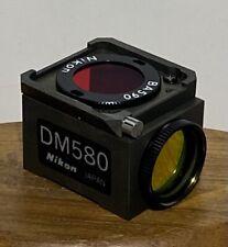 Nikon Dm580 G 2a Microscope Fluorescence Cube