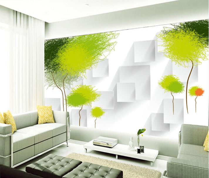 3D Netter Gekritzelbaum 84 Tapete Wandgemälde Tapete Tapeten Bild Familie DE